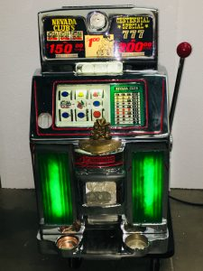 Dollar Jennings Reno Nevada Club Light Up Slot mac