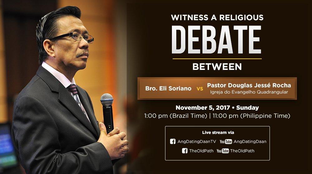 Ang Dating Daan Debate Vs Pastor Douglas