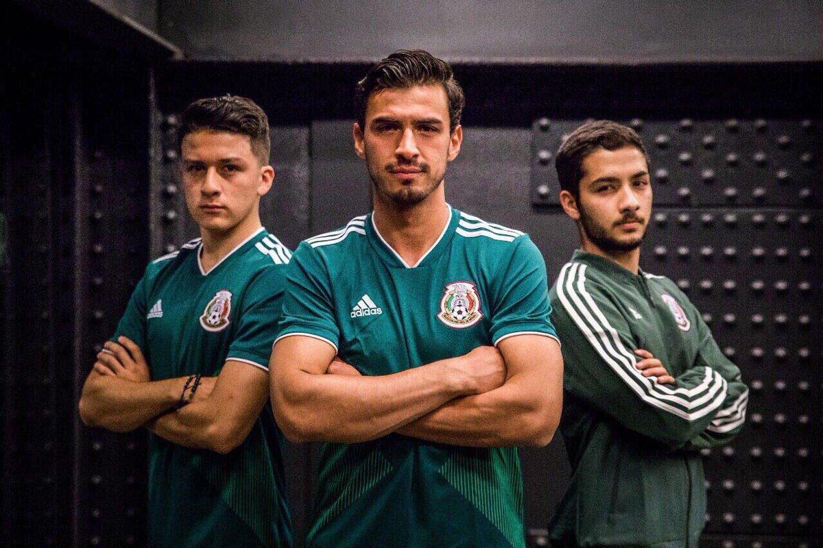 Oficializan uniforme mexicano para Mundial Rusia 2018