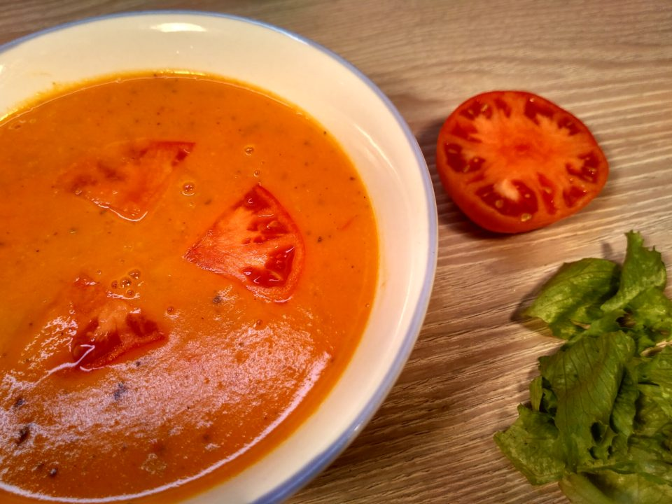 Крем суп томатный рецепт