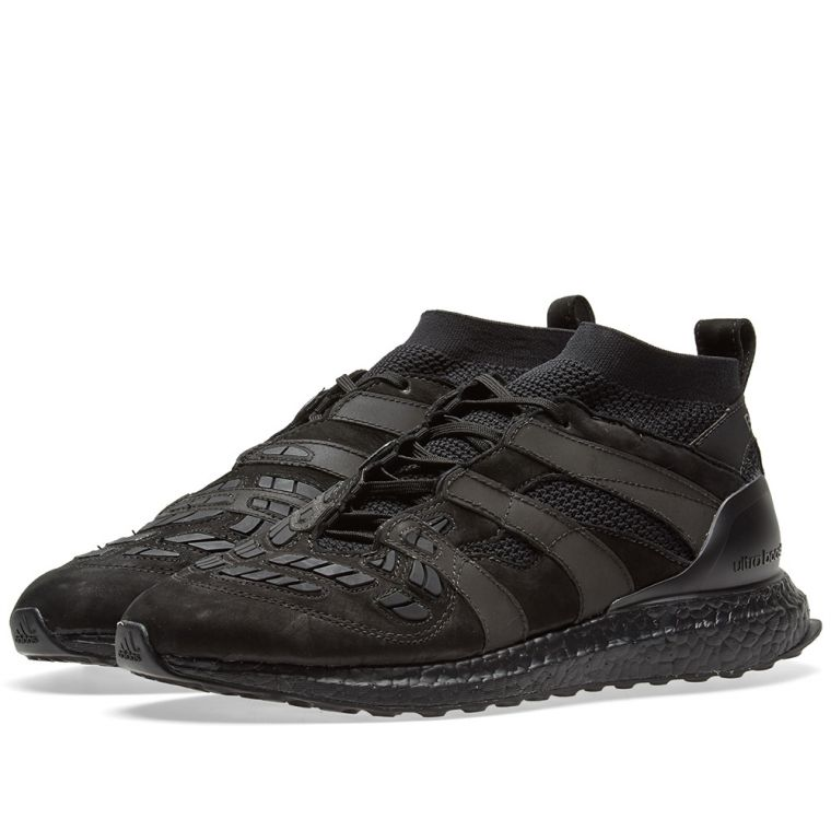 hot sale online 6a646 11982 David Beckham x Adidas Consortium DB Accelerator UltraBoost 'TRIPLE BLACK'  is NOW available! ...