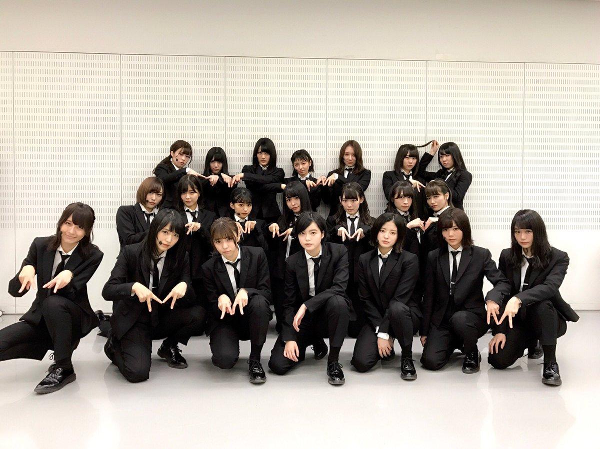 """欅坂: 欅坂46 On Twitter: """"このあと20時より、欅坂46がテレビ朝日系"""