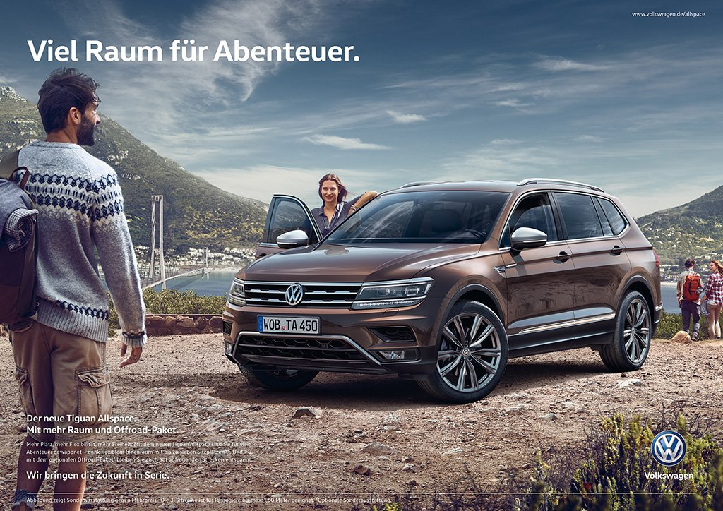 Volkswagen News On Twitter Vwnews Vw Showcases The New Tiguan Allspace With An International Marketing Campaign Https T Co 5ggmnqiycq Suv Https T Co U39elvnyhm