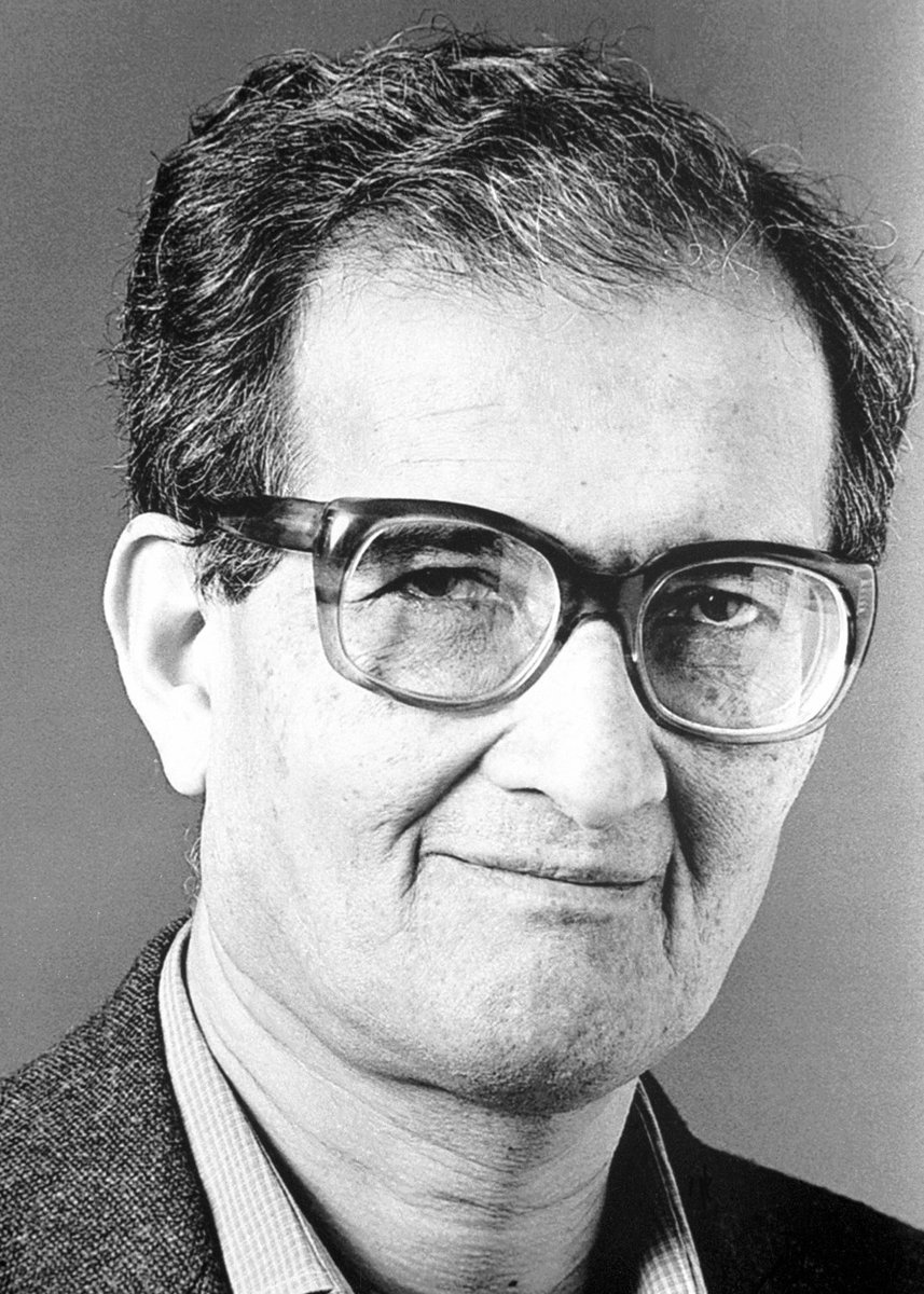 "The Nobel Prize on Twitter: ""Happy 84th birthday Amartya Sen! Created a  deeper understanding of the economic reasons behind famine and poverty.… """