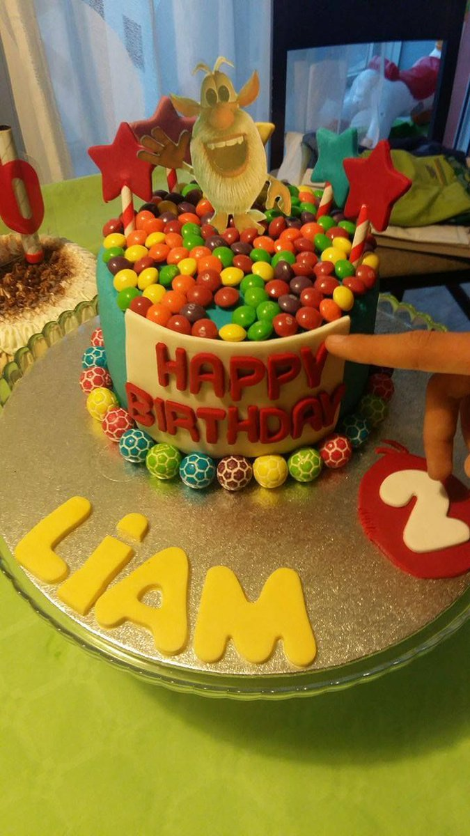 Booba on Twitter Birthday cake for Liam from Spain cake birthday