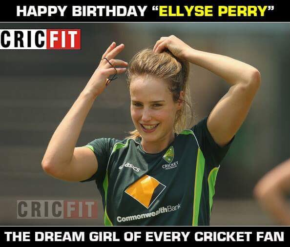 Happy Birthday Ellyse Perry!