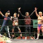 勝利の雄叫び!#プロレスラー草彅 pic.twitter.com/NhTmSVdMKr