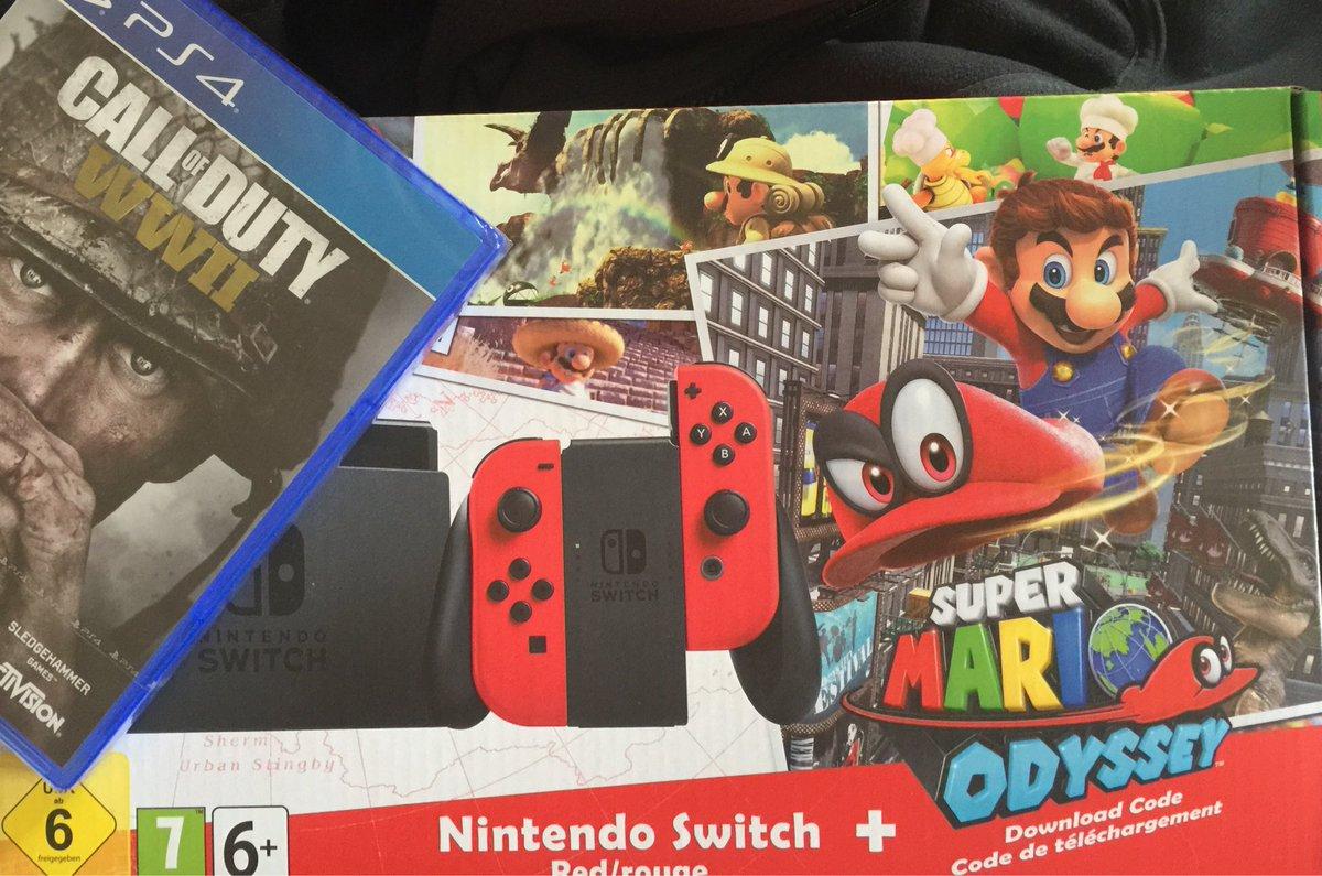 Bon weekend tout le monde #carrefour #cdiscount #NintendoSwitch #WW2 #PS4<br>http://pic.twitter.com/GoQxEiR8Aj