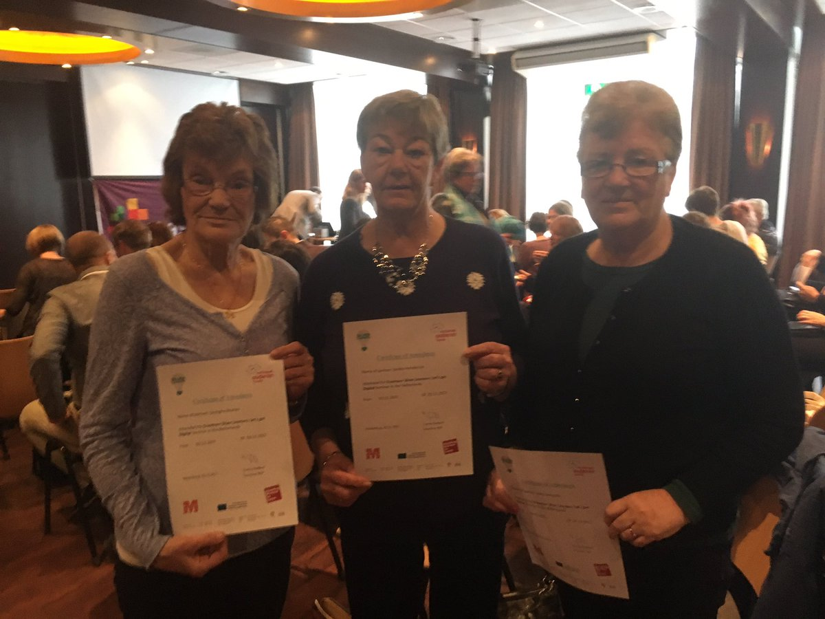 Our &#39;Leading Ladies&quot; project in Netherlands today. Developing good practice for support of seniors #epluspeople <br>http://pic.twitter.com/RWd0PpKTMb