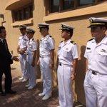 【米海軍第五艦隊司令部を訪問、司令官と意見交換や警備艇視察】第五艦隊司令官はアクイリノ中将、前職は海…