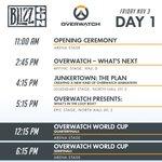突入: #BLIZZCON 1日目コンベンションを起動中 . . .戦術行動に備えよ!#オーバーウォ…