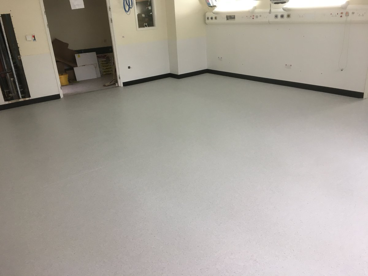 aiken flooring on twitter aiken flooring contracts completed a 6 week flooring project in newcastle rvi directly for newcastle nhs trust using polyflor