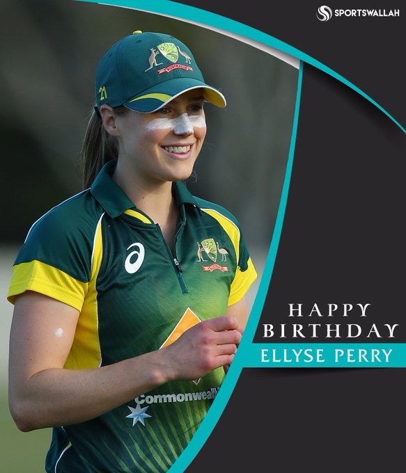 Happy Birthday, Ellyse Perry!