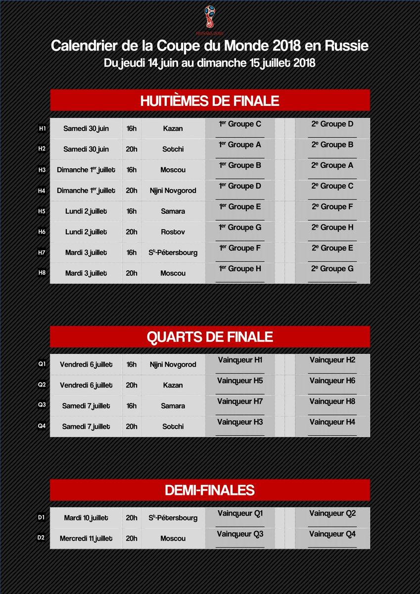 Calendrier Coupe Du Monde A Remplir.Coupe Monde Calendrier Imprimer Remplir Coupe Monde