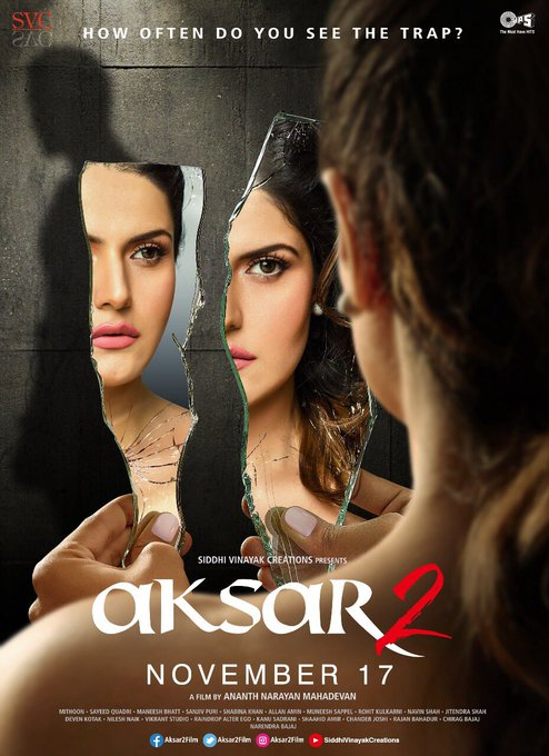 The much awaited thriller #Aksar2 will uncover its guarded secret on this November 17th. @aksar2film @tipsofficial @gautam_rode @narenbajaj https://t.co/6twTn6PJi7