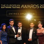 Last few tables remaining for the #SoftwareTestingAwards - book while you still can!    https://t.co/WfEo9wXVQz