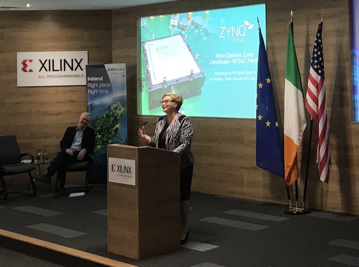 .@FitzgeraldFrncs &amp; Kevin Cooney announce 100 high-skilled jobs @XilinxInc #Dublin &amp; #Cork @IDAIRELAND #WhyIreland #AmChamRIA <br>http://pic.twitter.com/CnZDe3YuTX