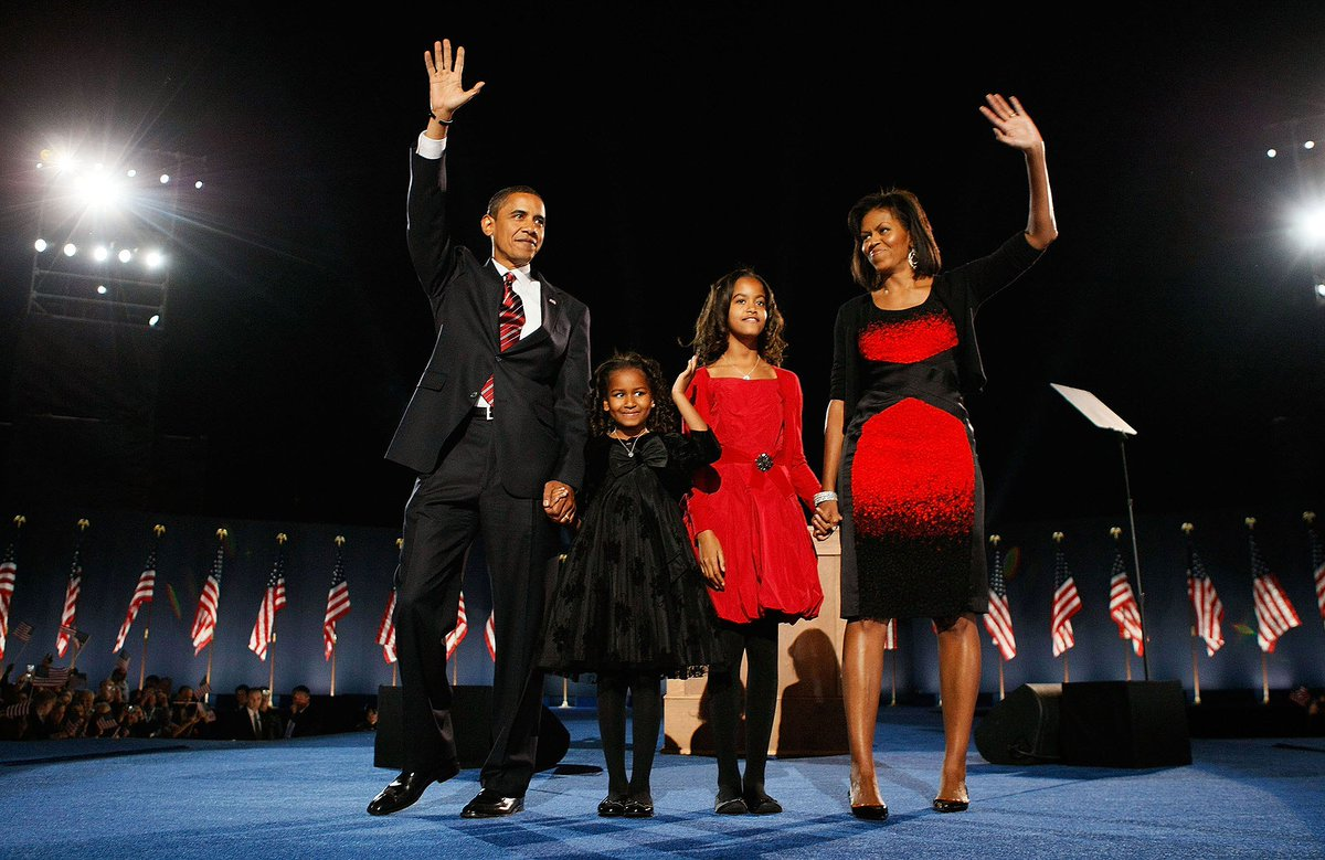 Nine years ago today, Barack Obama was elected the 44th President of the United States.