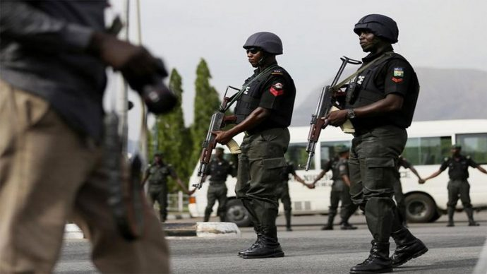 Breaking : heavily armed Policemen invade Nass over appearance of IGP before Senate