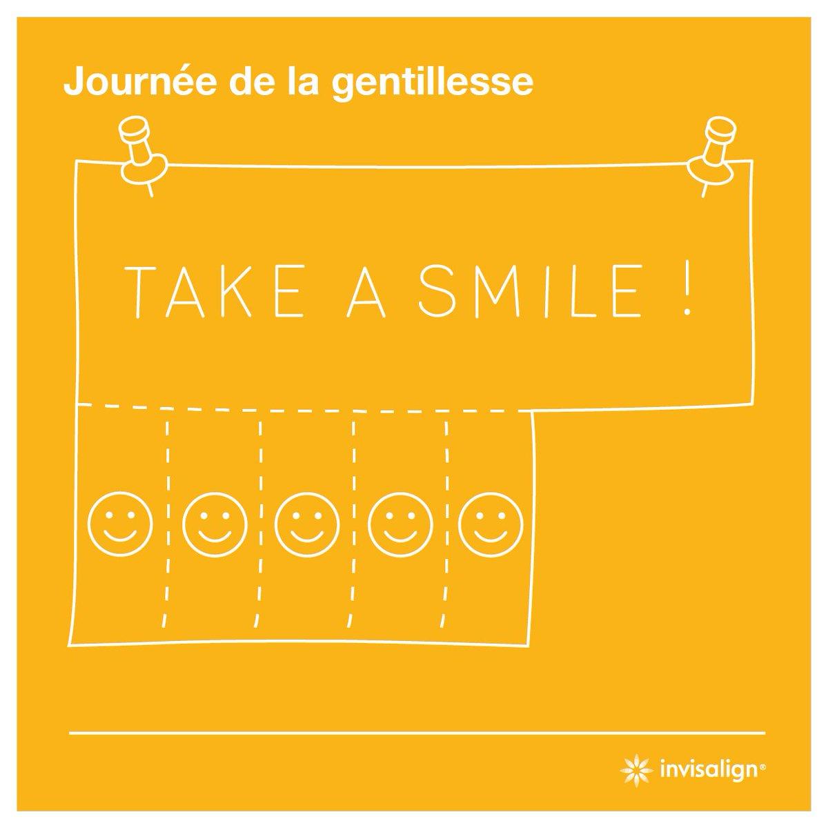Journée de la gentillesse : servez-vous ! :) #Invisalign #smile #aligners #bonheur #happiness #kindness #sourire #altruisme #grateful https://t.co/id3stBd235
