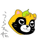 マウスで描いたやまだぬき!!!! pic.twitter.com/tbBEC7PPYM
