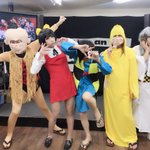 ライカエジソン東京店様にて。己龍七変化〜第二部〜!司会の松本さんも『ねずみ男』を着用してくれました🙏…