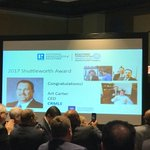 Art Carter wins Peter Shuttleworth Award of Excellence!  Congratulations on all your achievements.  #NARAnnual @CRMLSArtCEO