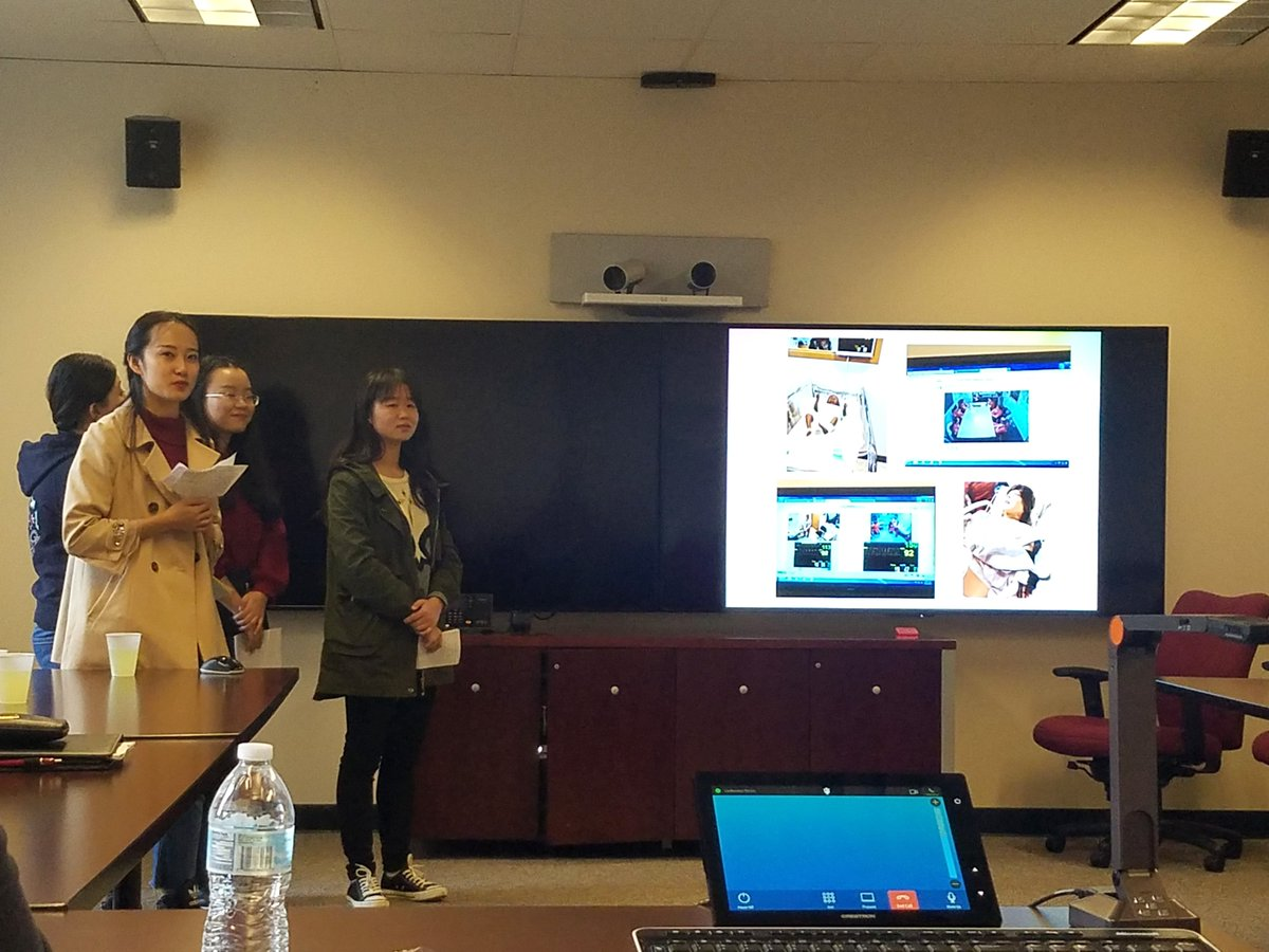 SYSU students share what they learned while visiting #IUSON. We were happy to host them and share our approach to nursing education! <br>http://pic.twitter.com/vEFmTmEs4O