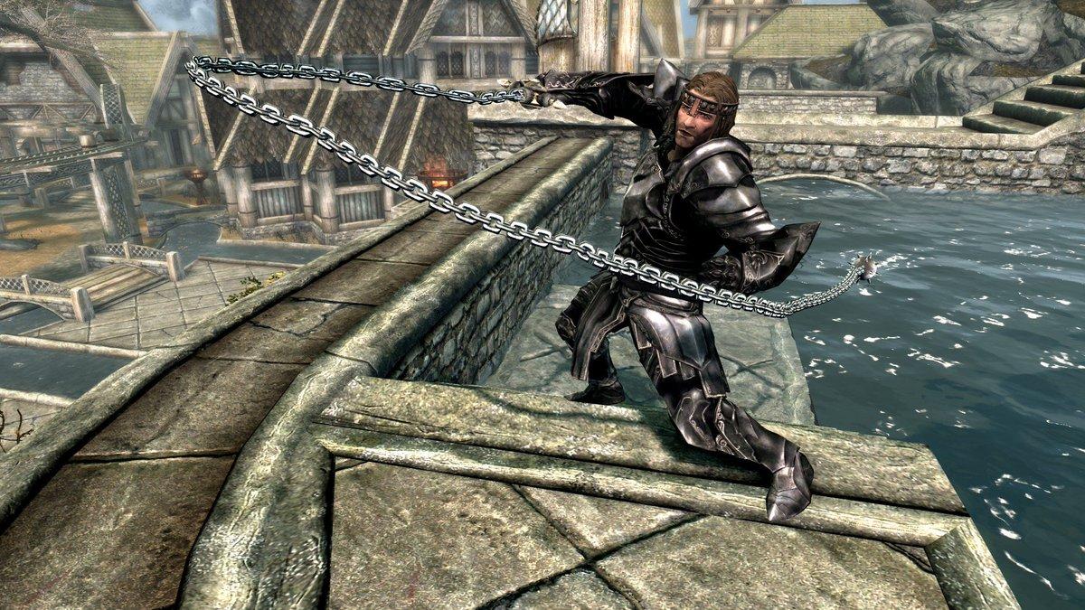 Skyrim Se Combat Animation Mod