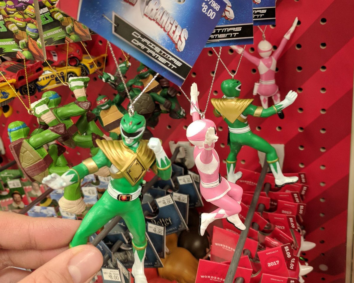 Power Rangers Christmas Tree.Power Rangers Now On Twitter Mighty Morphin Powerrangers