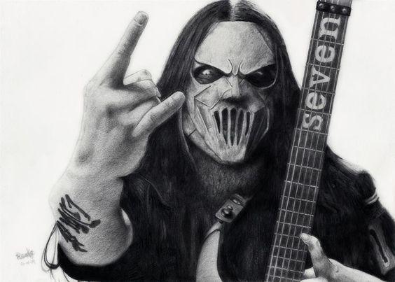 Born today in 1973:  Mick Thomson of Slipknot   Happy birthday!