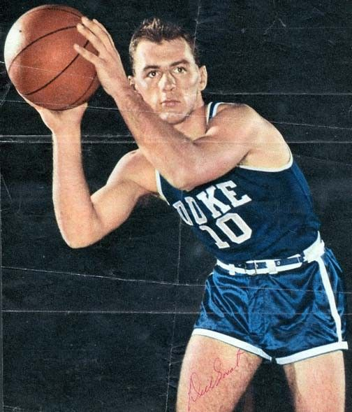 Happy birthday to two-time All-American, two-time NPOY, and the first Dukie to get his jersey retired, Dick Groat