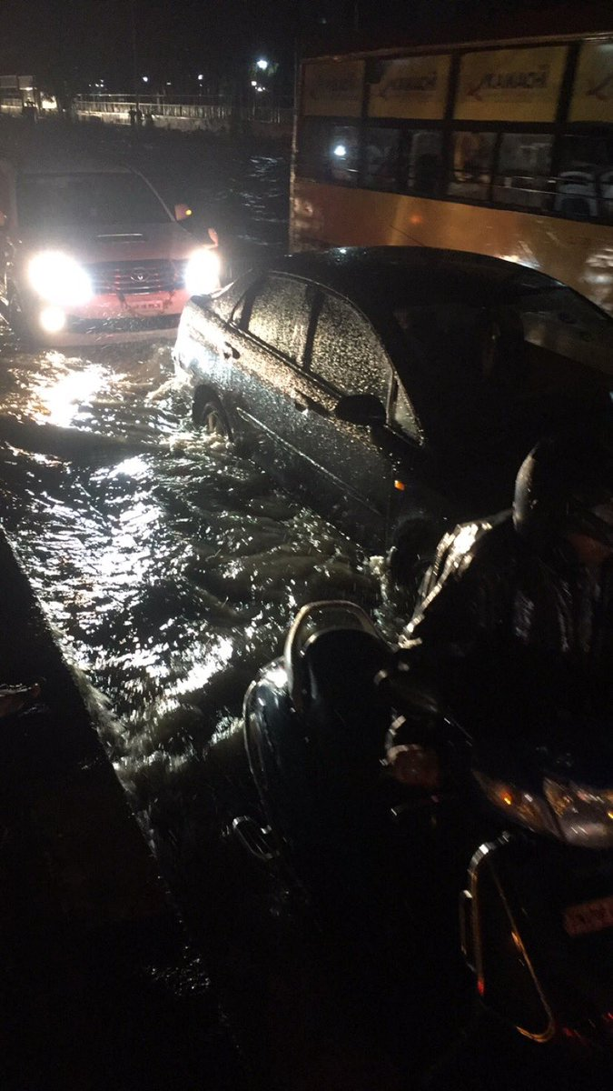 Heavy Rainfall will continue till November 8th in Chennai!