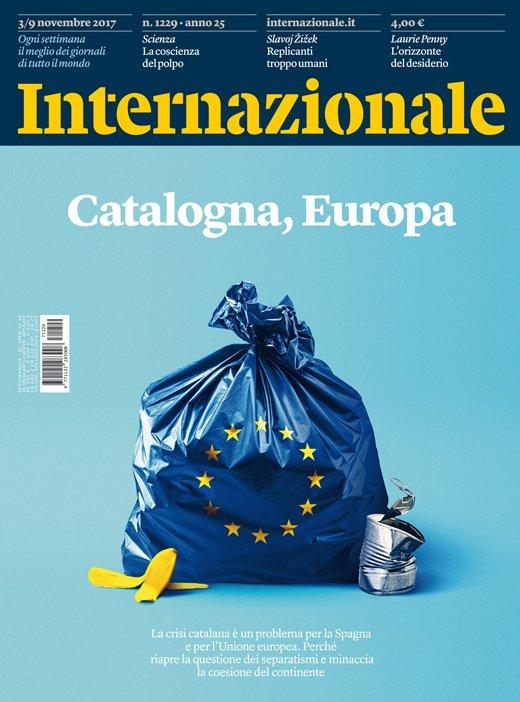 La crisi catalana è un problema per la Spagna e per l'Unione europea. La nuova copertina di Internazionale. https://t.co/7B7yRLiXc7