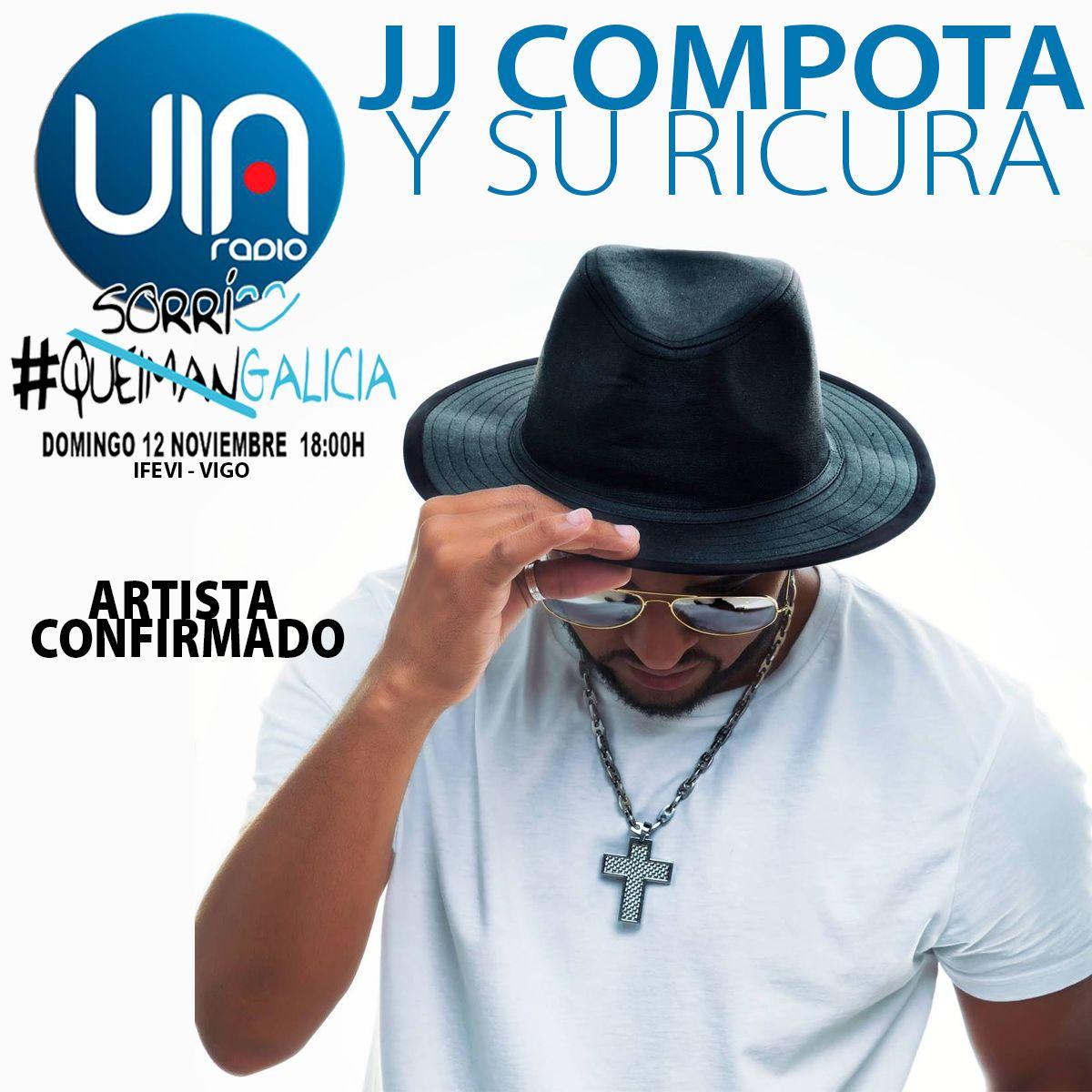Suena en @via_radio #TIMBAKUTIRI un temazo de @compotayricura, uno de los artistas confirmados para el #SorriGalicia. No te lo pierdas!! https://t.co/cBS1a8eITZ