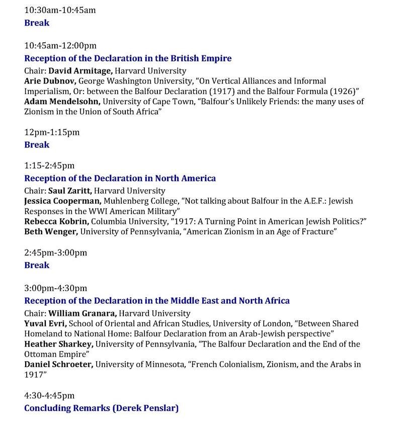 Cjs On Twitter Cjs Is Pleased To Host The Balfour Symposium Nov