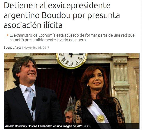 #Argentina El #kirchnerismo se hunde cada día más... https://t.co/t9KvciwmSm