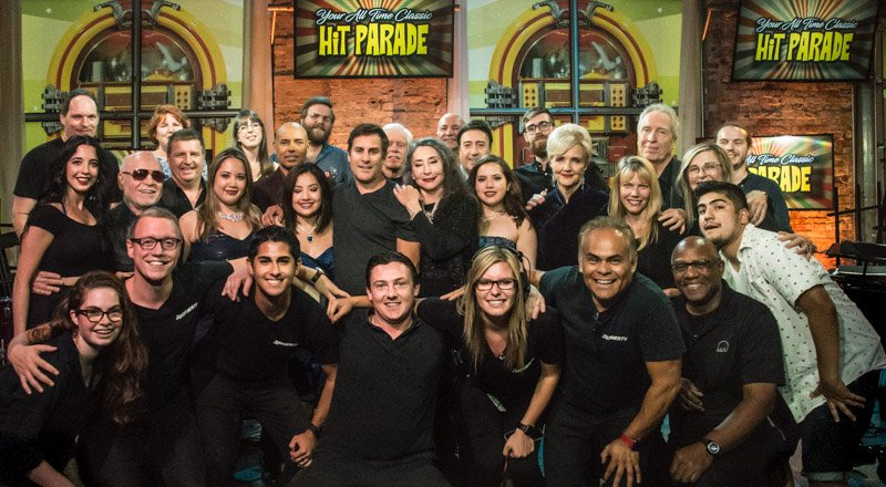 This handsome, multi-talented bunch created Your All Time Classic #HitParade premiering tonight at 8:30pm ET.  http:// ow.ly/TiI730gkVLE  &nbsp;   #music<br>http://pic.twitter.com/rSkxucWOyh