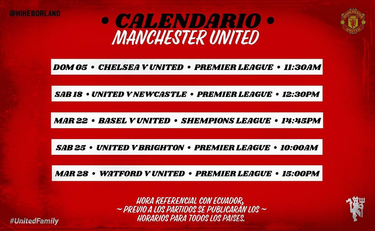 Premier League Calendario.Fantasy Premier League On Twitter Next Six For Manutd