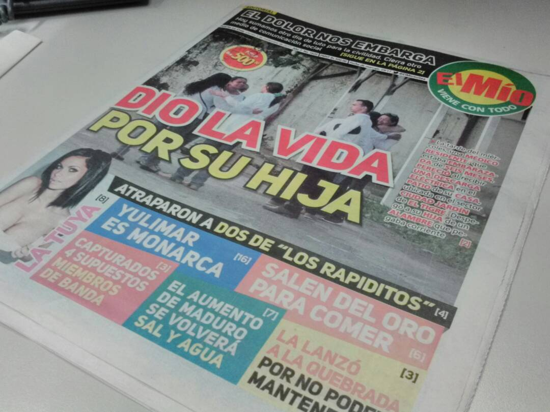 Diario el tiempo anzoategui sucesos de hoy