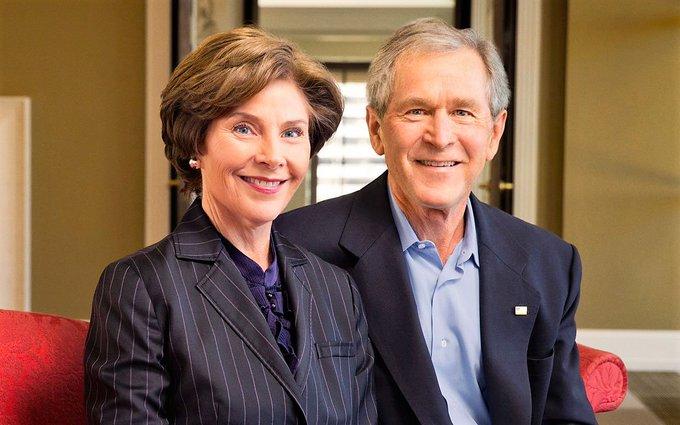 Happy 71st birthday to Laura Bush!