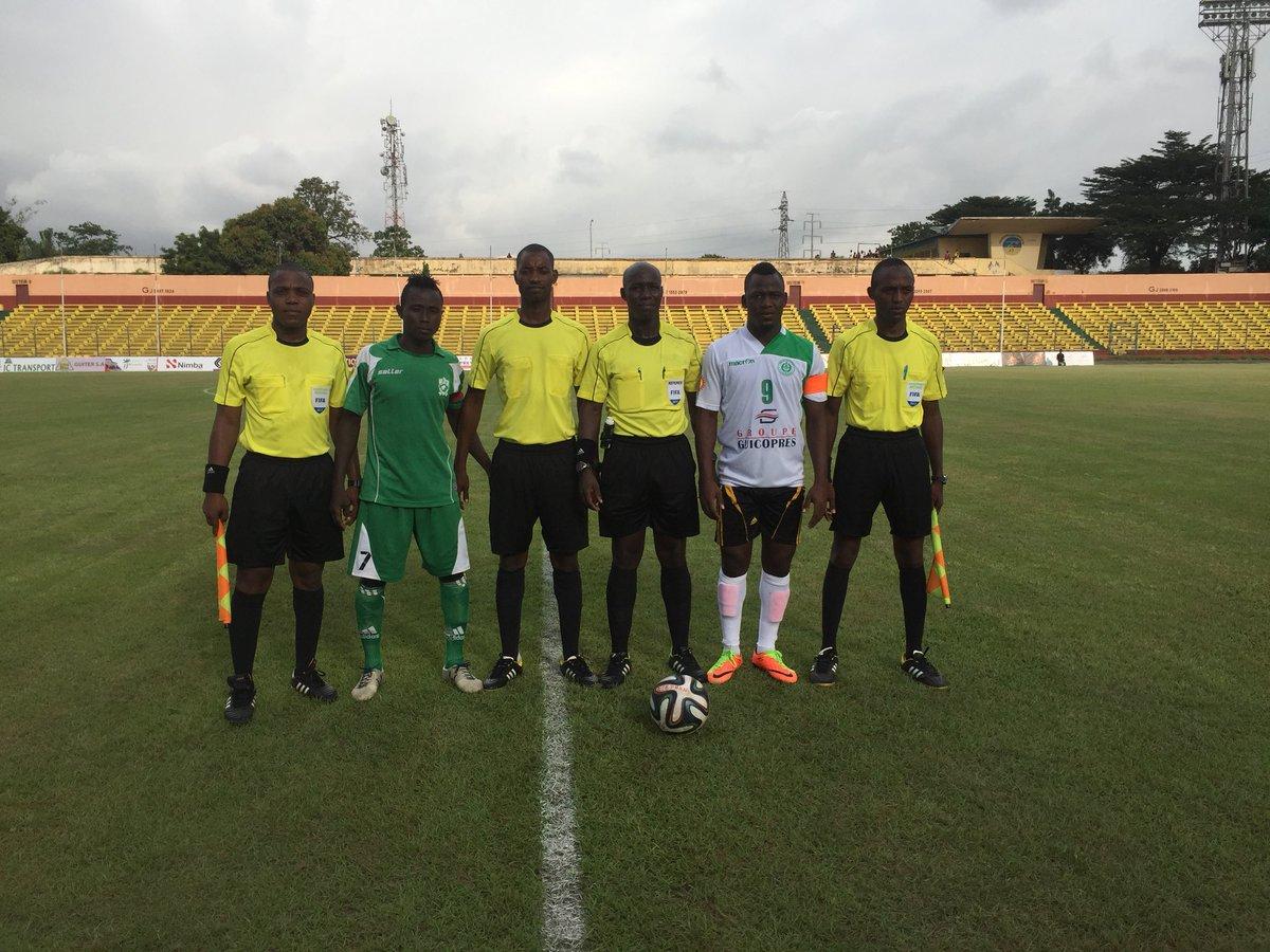 1ère J. L1 foot-Guinée Éléphants-Hafia 1-1,Renaissance-Horoya 2-0,Kindia-Siguiri 2-0 @celoutata @ndirediallo @segadiallo @TanouDiallo18