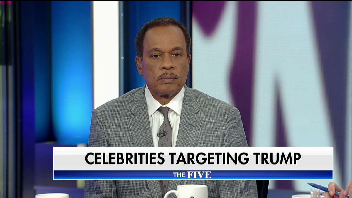 .@TheJuanWilliams on celebrities targeting @POTUS: 'I think it feeds our worst instincts as Americans.' #TheFive