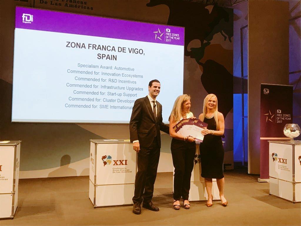 Zona Franca Vigo On Twitter Time For Fdimagazine Awards Global