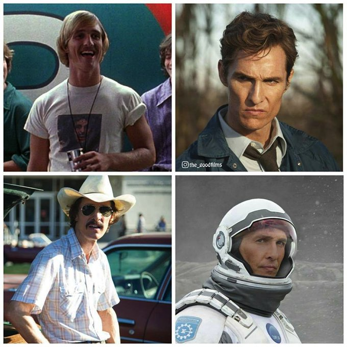 Happy 47th Birthday Matthew McConaughey