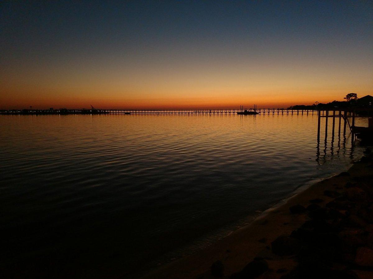 #Sunset over Santa Rosa Sound. #lovefl #...
