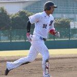 シート打撃には藤岡投手・西野投手・関谷投手・酒居投手・佐々木投手・二木投手が登板。野手は香月一選手と…