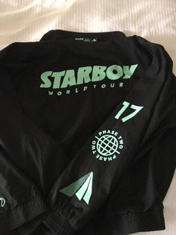 Tour jacket 2017! https://t.co/414lXgjsVI