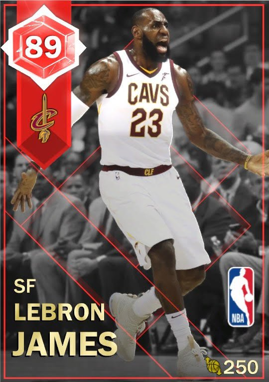 After a 57 point performance everyone is talking about, a brand NEW @KingJames Moments card is now available in League Moments Packs! #King