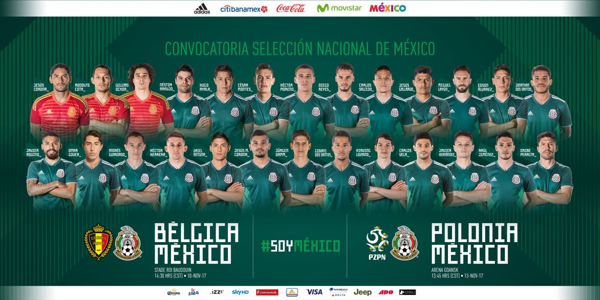 México Rusia 2018 camiseta